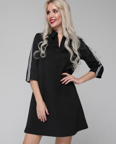 Платье 113/4 черный