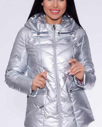 22210 Куртка Серебристый