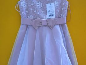 Новое праздничное платье SLY Польша 134 и 140
