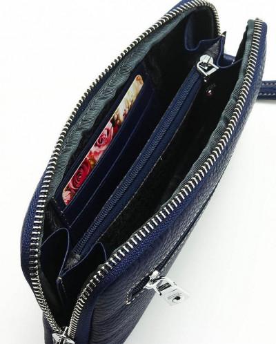 Женский кожаный кошелек на молнии Sergio Valentini СВ 8088-0