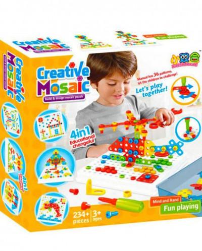 Конструктор мозаика Creative Mosaic 234 детали