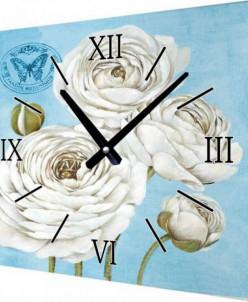 F65 Настенные часы на холсте 50х50