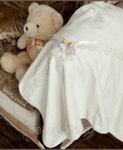Плед-одеяло с розочкой