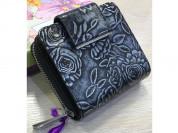 Новый кошелек Alessandro Beato темное серебро