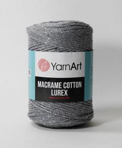MACRAME COTTON LUREX (хлопок/полиэстер/металлик)