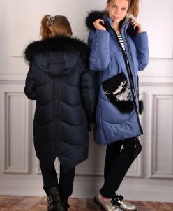 18222 Пальто для девочки Anernuo