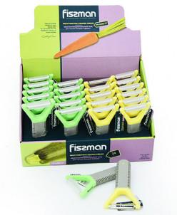 8486 FISSMAN Многофункциональный нож для чистки овощей Y-фор
