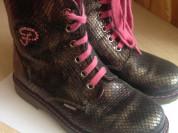 Ботинки кожаные Pablosky