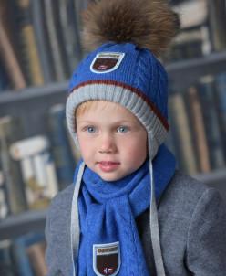 ПРАЙМ комплект (шапка, шарф)