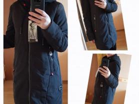 Новая осенняя куртка парка 40 42 44 48