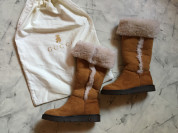 Новые зимние сапоги Gucci оригинал р.31