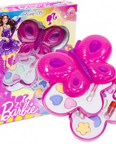 Набор детской косметики Барби 28x21x5см