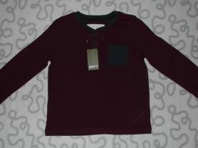 Новая футболка с длинным рукавом Pepperts, 122-128