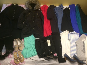 Пакет женской одежды и обуви
