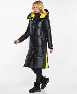 Фирменный воздуховик женский черный комфортный зимний модель
