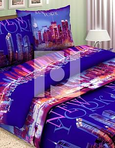 Поплин Нью-Йорк  1,5 спальный