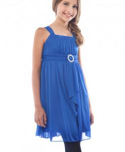 синее платье сша