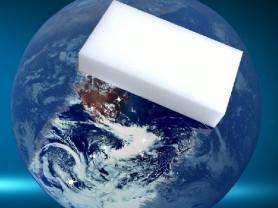 Чудо-Меламиновые НАНО Губки 100x60x20. Белые,Серые