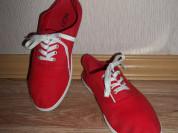 Красные кеды