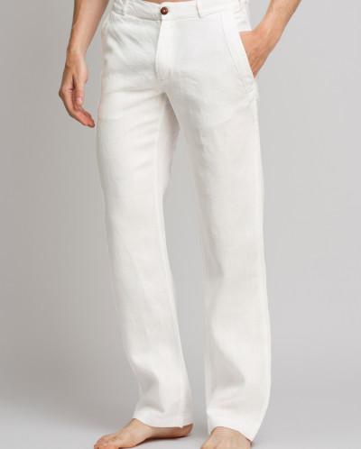 cb39a4b6d3fd Мужские льняные брюки / ЦВЕТ: белый за 2013 руб.