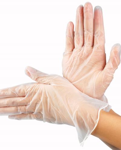 Перчатки виниловые неопудренные размер S 100 шт.