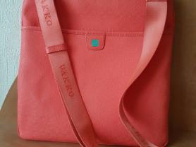 Эта сумка фиомы Vakko крос-боди коралл