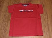 Красная Футболка Armani 18 мес. (82-86 см)