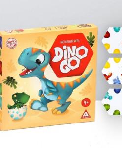 """Настольная игра """"Dino Go"""""""