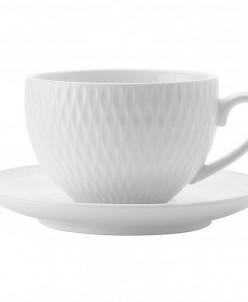 Чашка с блюдцем Даймонд без инд.упаковки