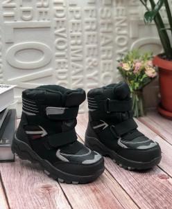 Детские ботинки 7028-1 черные