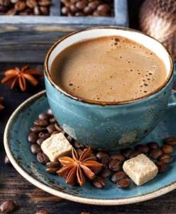 Утро с кофе по - восточному - алмазная мозаика