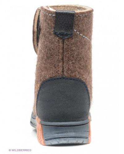 Валенки Котофей 267005-03 коричневый (23-26)