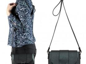 Новая сумка кроссбоди из сафьяновой кожи Италия