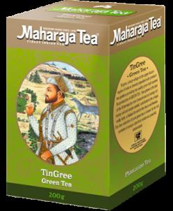 "Чай ""Махараджа"" индийский  Зеленый Ассам   ""Тингри"" 200гр"