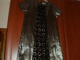 Черное с золотом платье Dino e Lucia.Paris.
