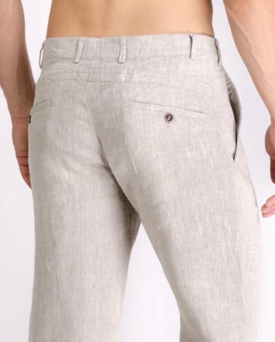 731c71e171e7 Мужские льняные брюки / ЦВЕТ: натуральный за 2013 руб.