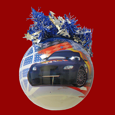 "Шар ""Уолт Дисней"" (Макс Шнел и Рауль), диаметр 95 мм, арт. Ш"