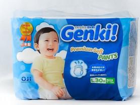 Трусики-подгузники Genki, 9-14 кг