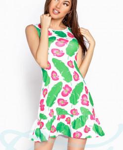 Летнее платье принт Gepur