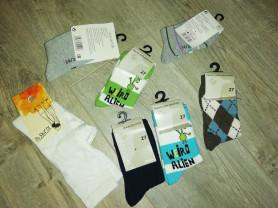 Новые носки +гольфы р. 24-27 качественные всё куче