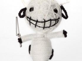 Крейзико - кукла, талисман, ручная работа