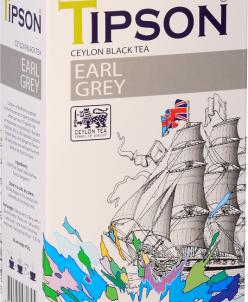 Чай Tipson Эрл Грей /Earl Grey 85г., картон