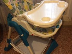 Ходунки Capella и стульчик для кормления Happy Baby