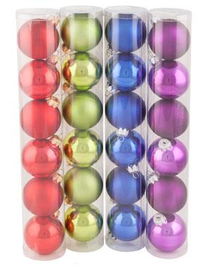 """Набор шаров """"Новогодний"""", диаметр 65 мм."""