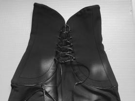Стильные классические брюки с корсетом
