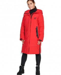 Пальто женское, сезон 2019-2020, арт.B-8815, Красный
