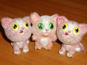 Фигурки котята 3 шт высота 4 см