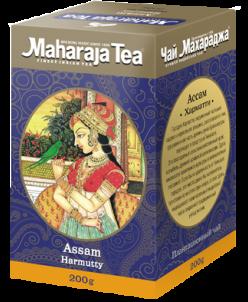 """Чай Махараджа индийский чёрный байховый Ассам """"Хармати"""" 100г"""