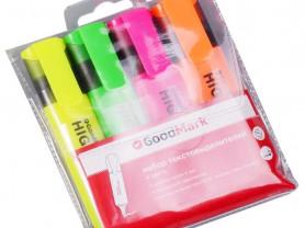 Новый набор маркеров GoodMark (4 цвета)