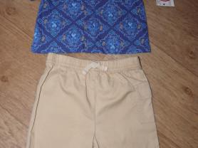 Комплект (США на 6-12 мес.) шорты и рубашка
